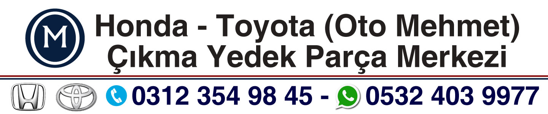 Oto Mehmet – Honda Çıkma Yedek Parça 0532 403 9977