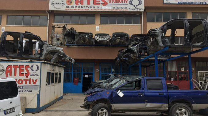 SsangYong Çıkma Parça, Ford Çıkma Parça, Nissan Pikap Çıkma Parça