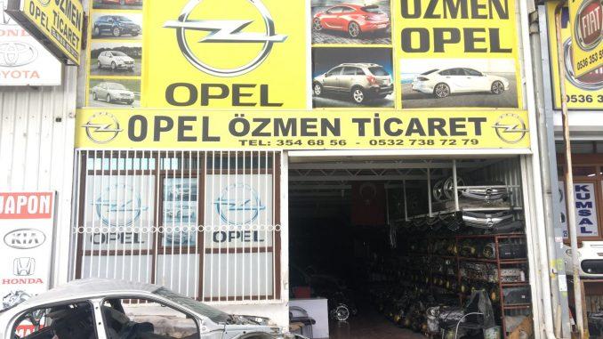 Opel Çıkma Parça, Özmen Ticaret